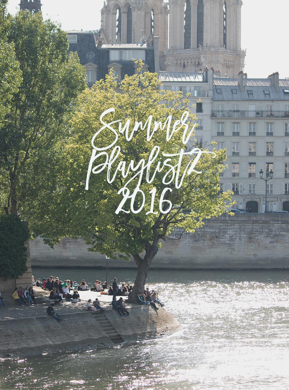 @everydayparisian @rebeccaplotnick Paris Seine Summer Playlist