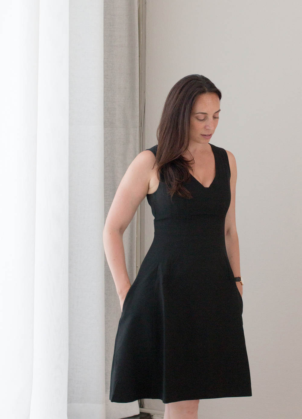 @everydayparisian @rebeccaplotnick little black dress