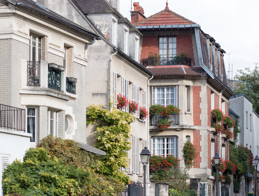 Montmartre Autumn Paris, France @rebeccaplotnick