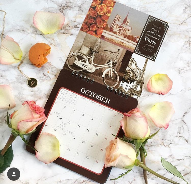 Paris is always a good idea calendar