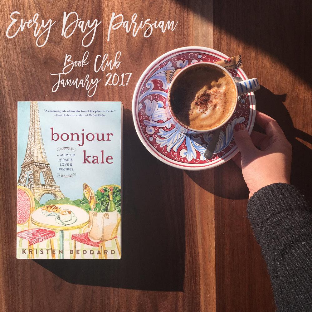 Book Club 2017 Bonjour Kale