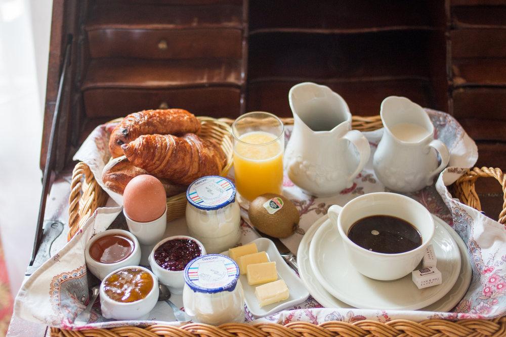 breakfast paris @rebeccaplotnick