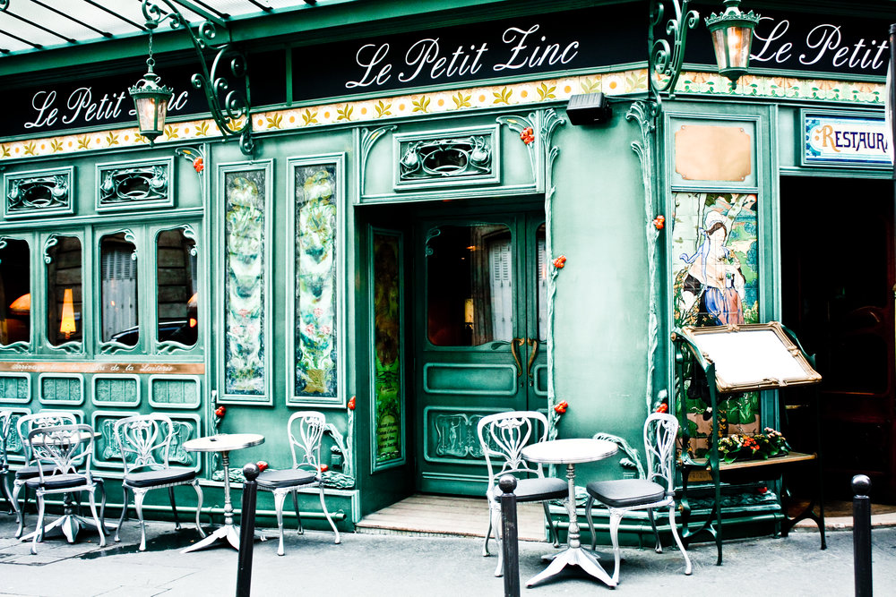 11x14 Petit Zinc