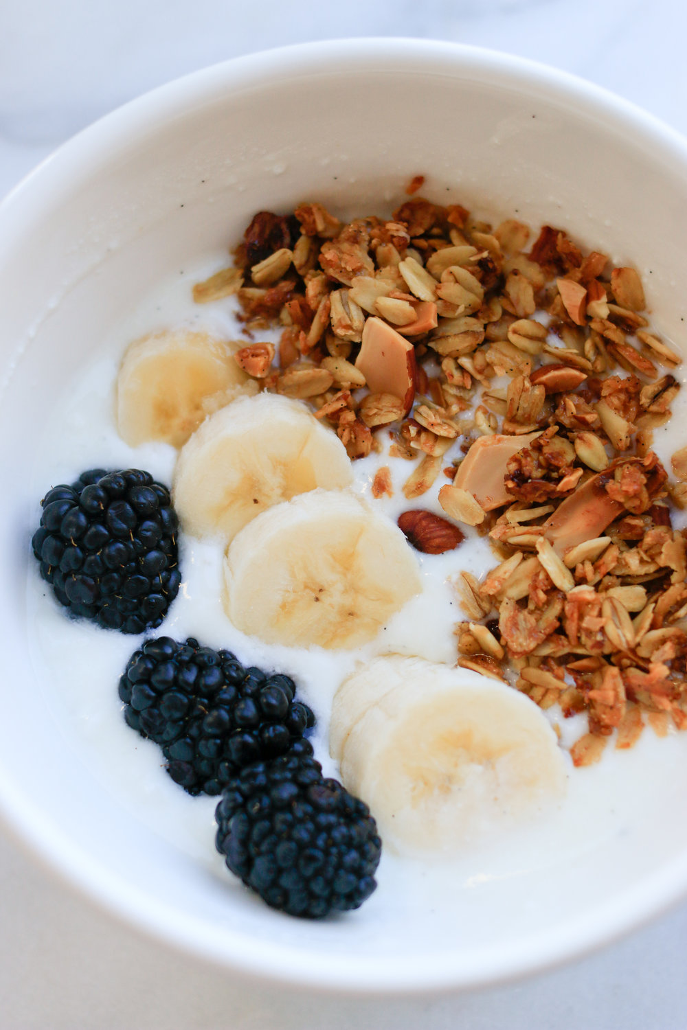 granola and homemade yogurt via everyday parisian
