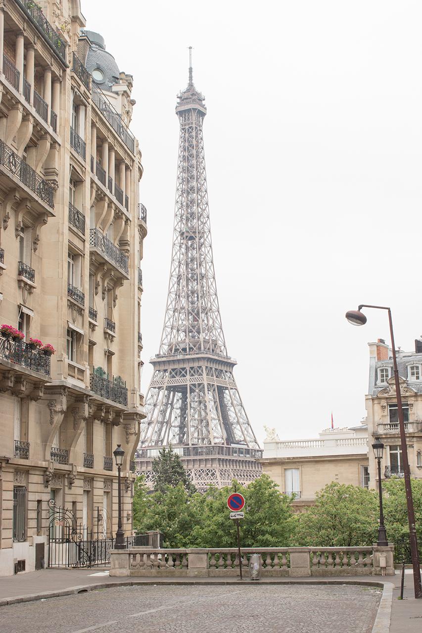 paris spring eiffel tower via Every Day Parisian