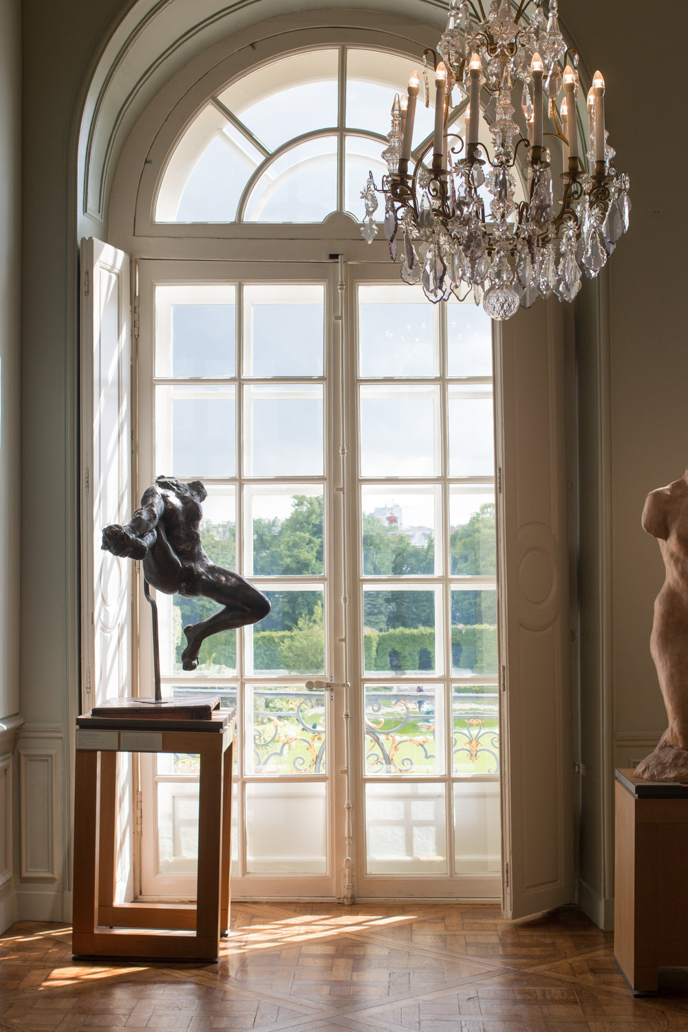 rodin museum via everyday parisian by rebecca plotnick