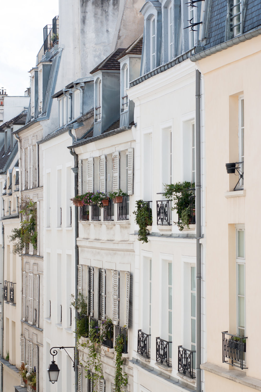 paris in the spring rooftops in the marais via everyday parisian