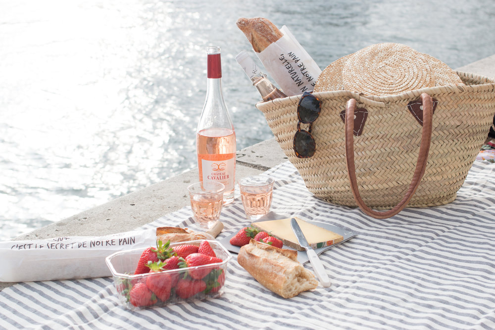 seine Paris picnic in spring by everyday parisian
