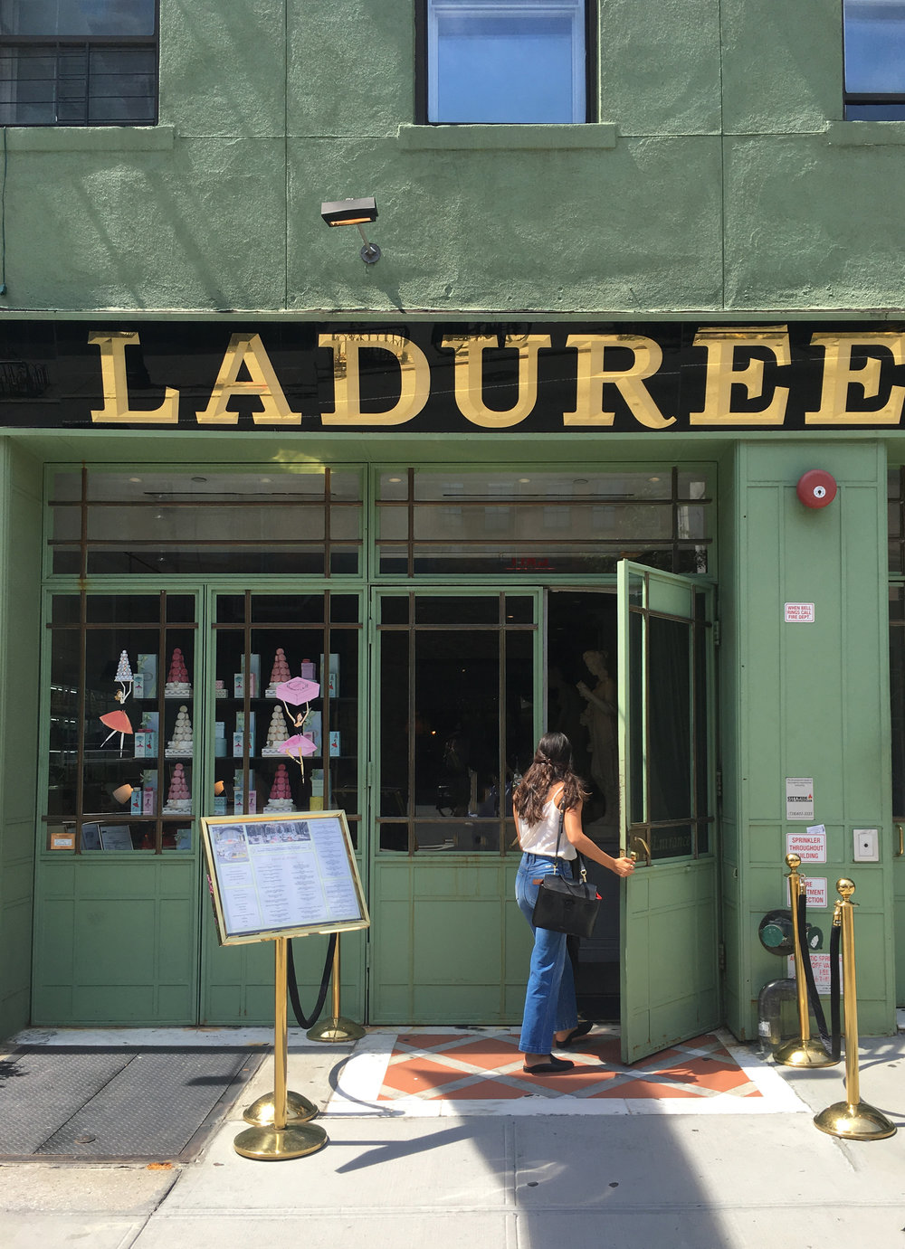 summer garden party at ladurée soho