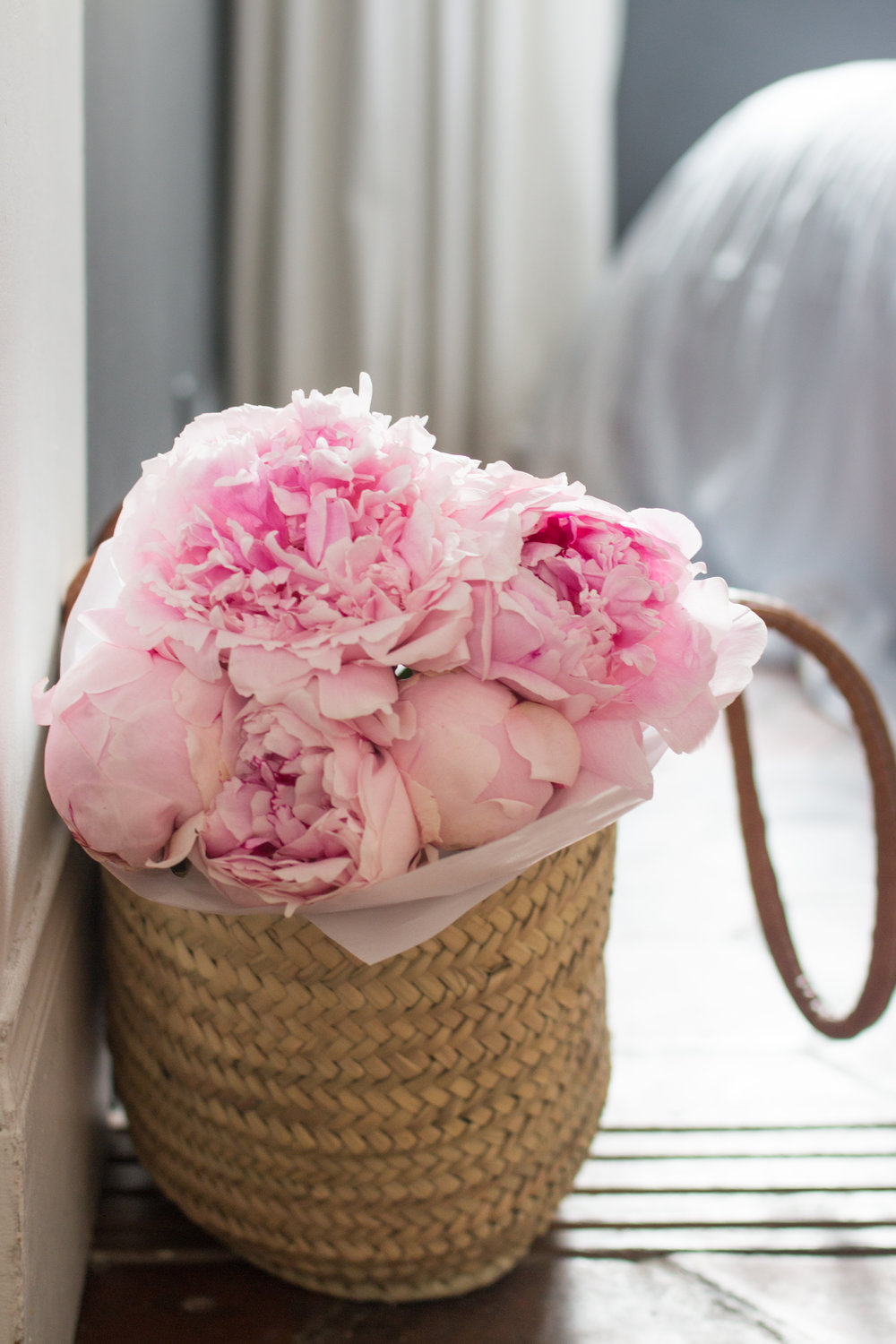 pink peonies in paris, france where to buy peonies