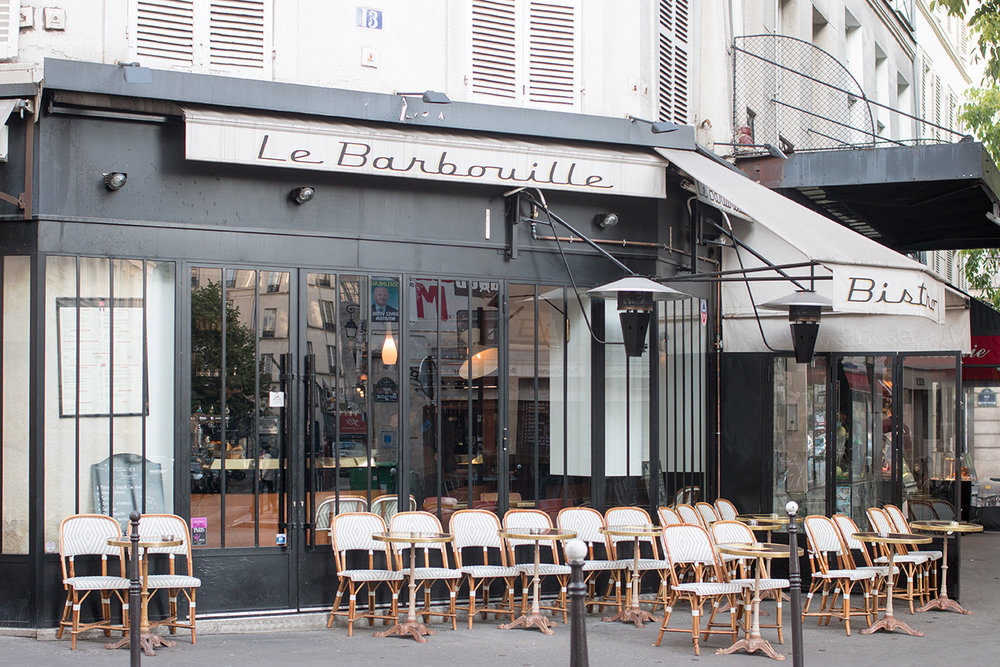 paris cafe le barbouille