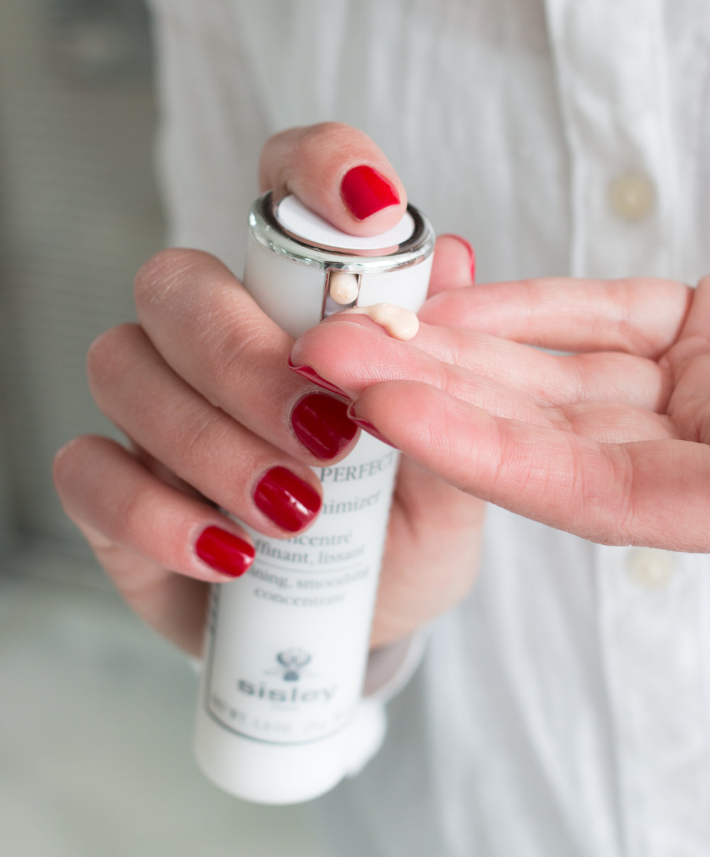 sisley paris red nails