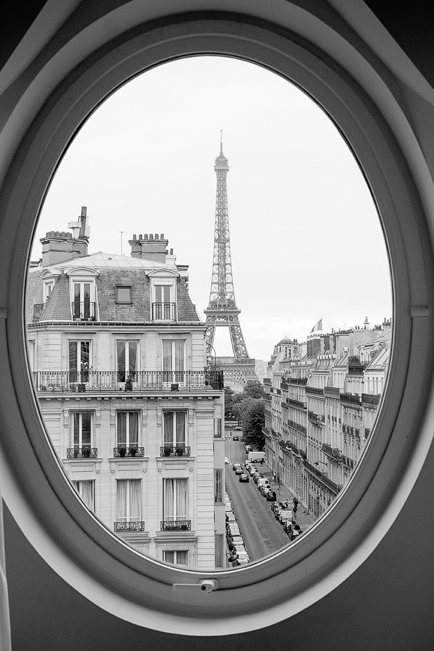 paris black and white photography