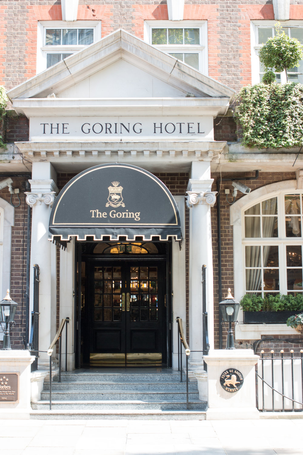 the goring hotel london england