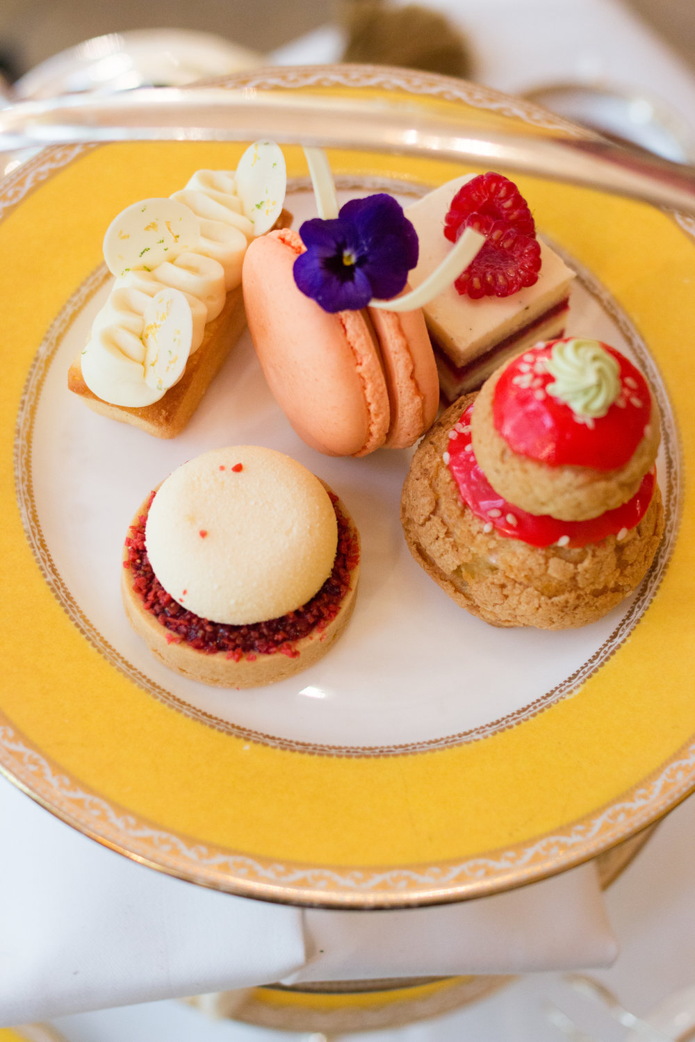 high tea at the goring hotel in london england
