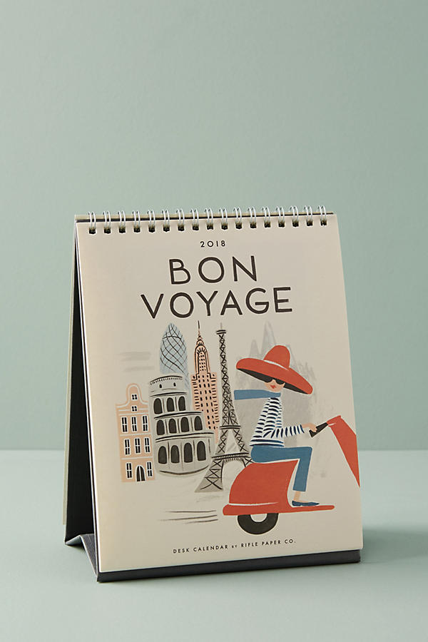 Bon Voyage - Calendar