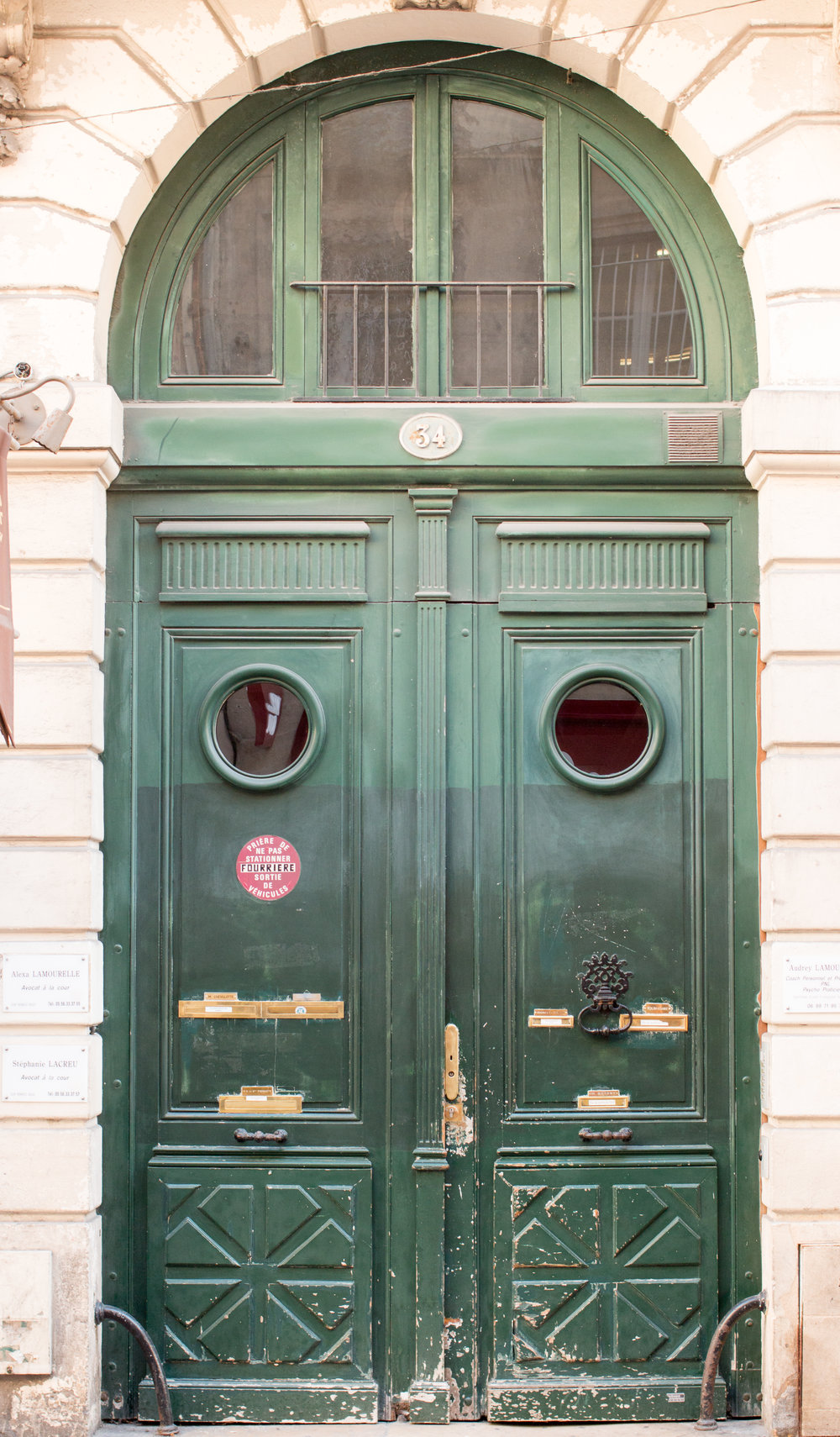 green door bordeaux france by rebecca plotnick