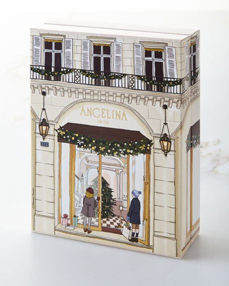 angelina paris chocolate advent calendar