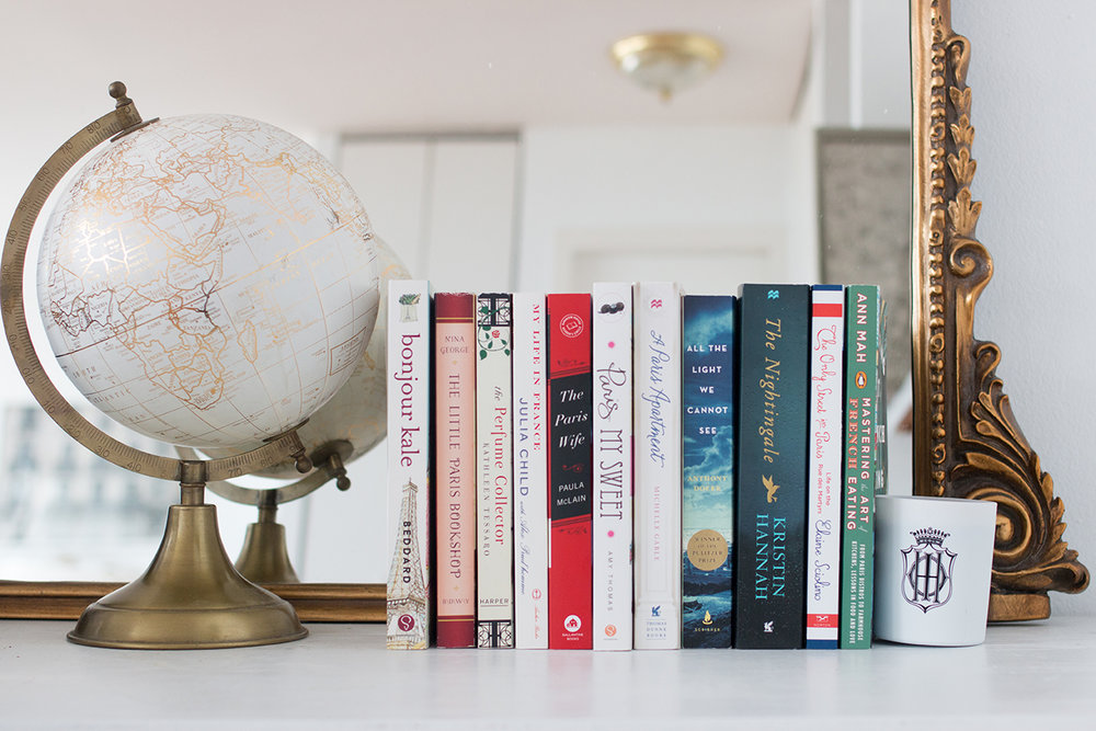 francophile gift guide for the book lover