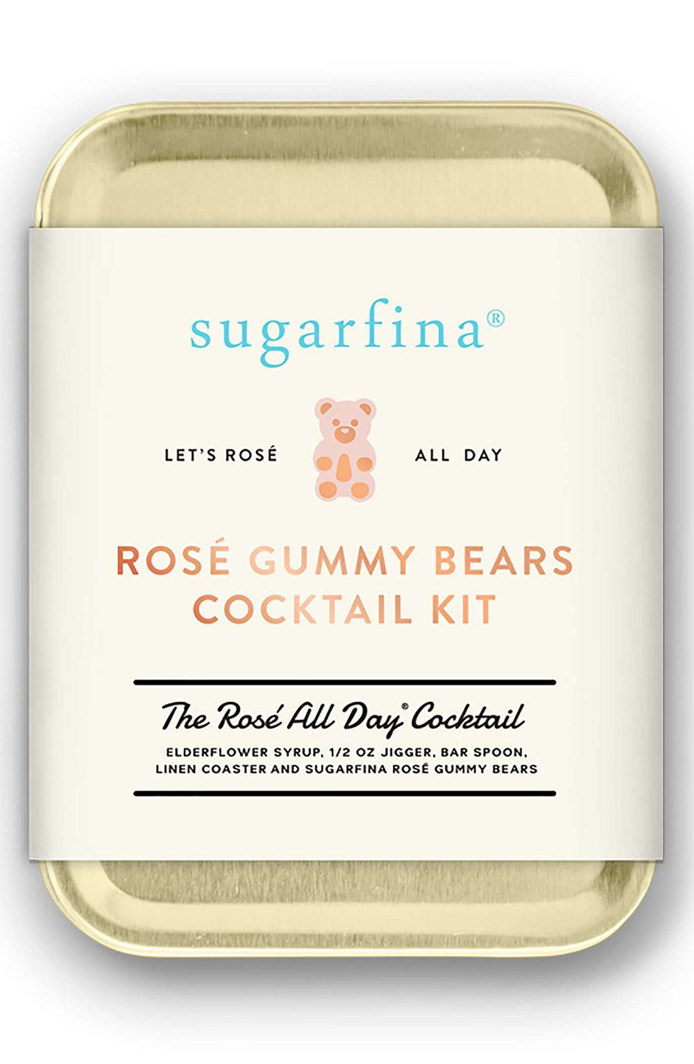 rose gummy bear cocktail kit