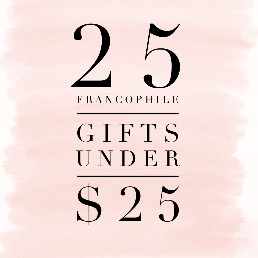 25 Francophile gifts under $25