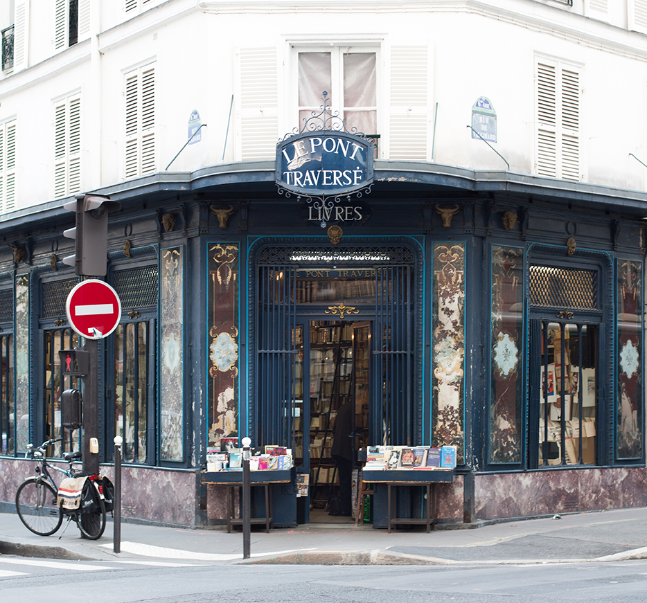 paris bookshop right bank