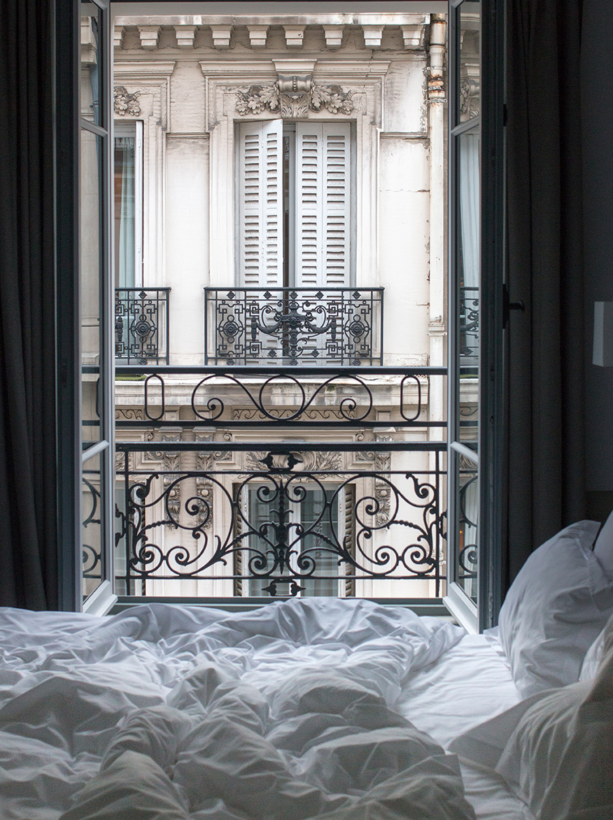 parisian bedroom scene