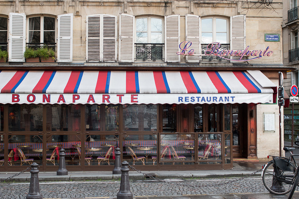cafe bonaparte paris france