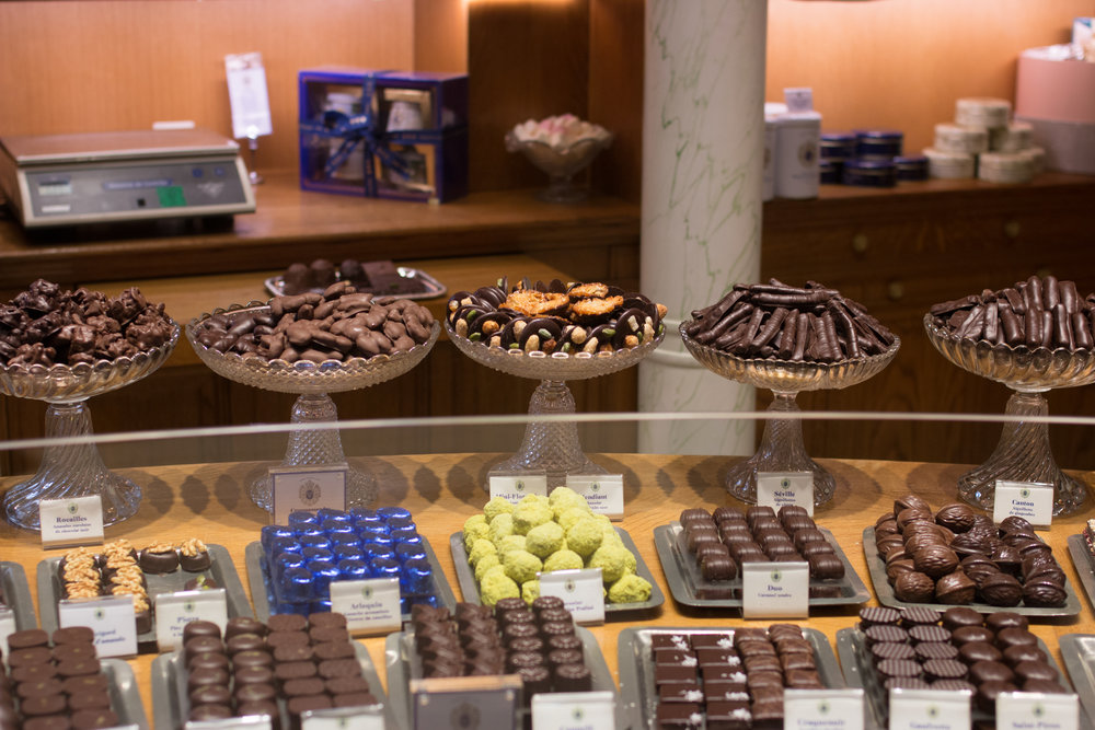 paris chocolate shop