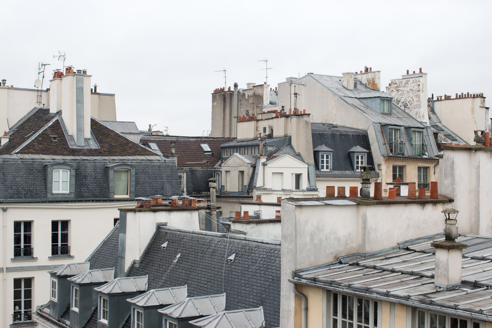 paris rooftop views left bank