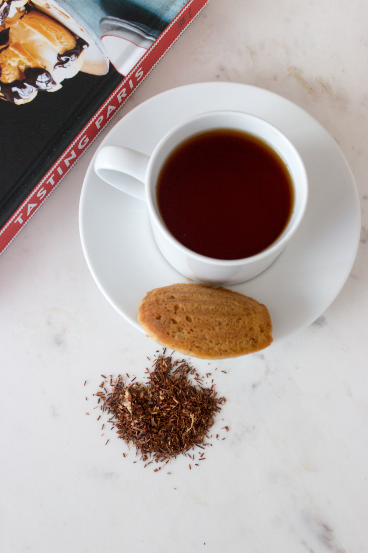rooibos tea madeleines