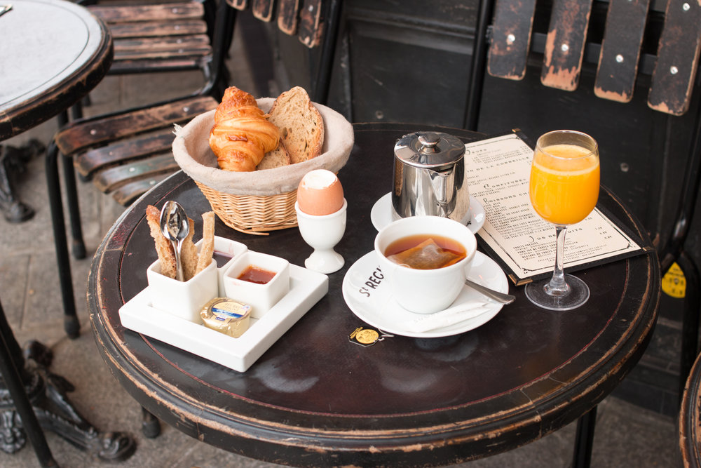 st regis breakfast paris france