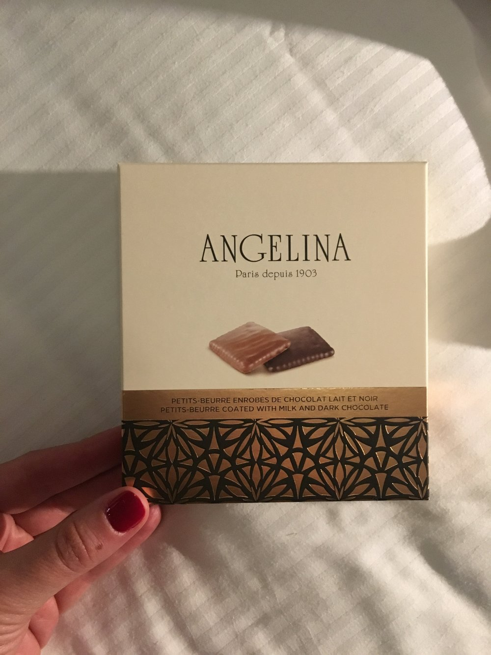 angelina chocolates le cinq codet