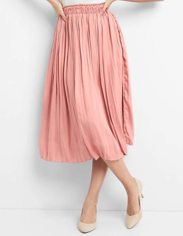 pink skirt gap