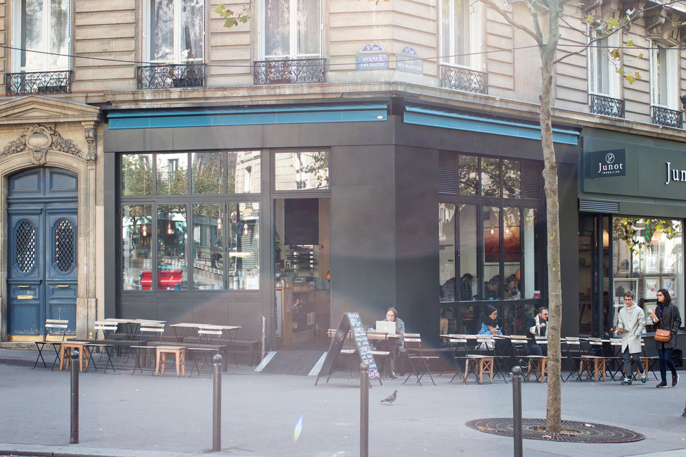 KB café Paris, France Where to drink coffee in Paris