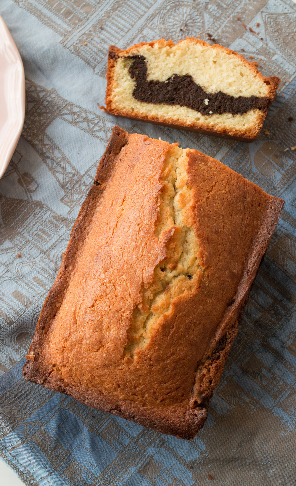 french marble cake recipe