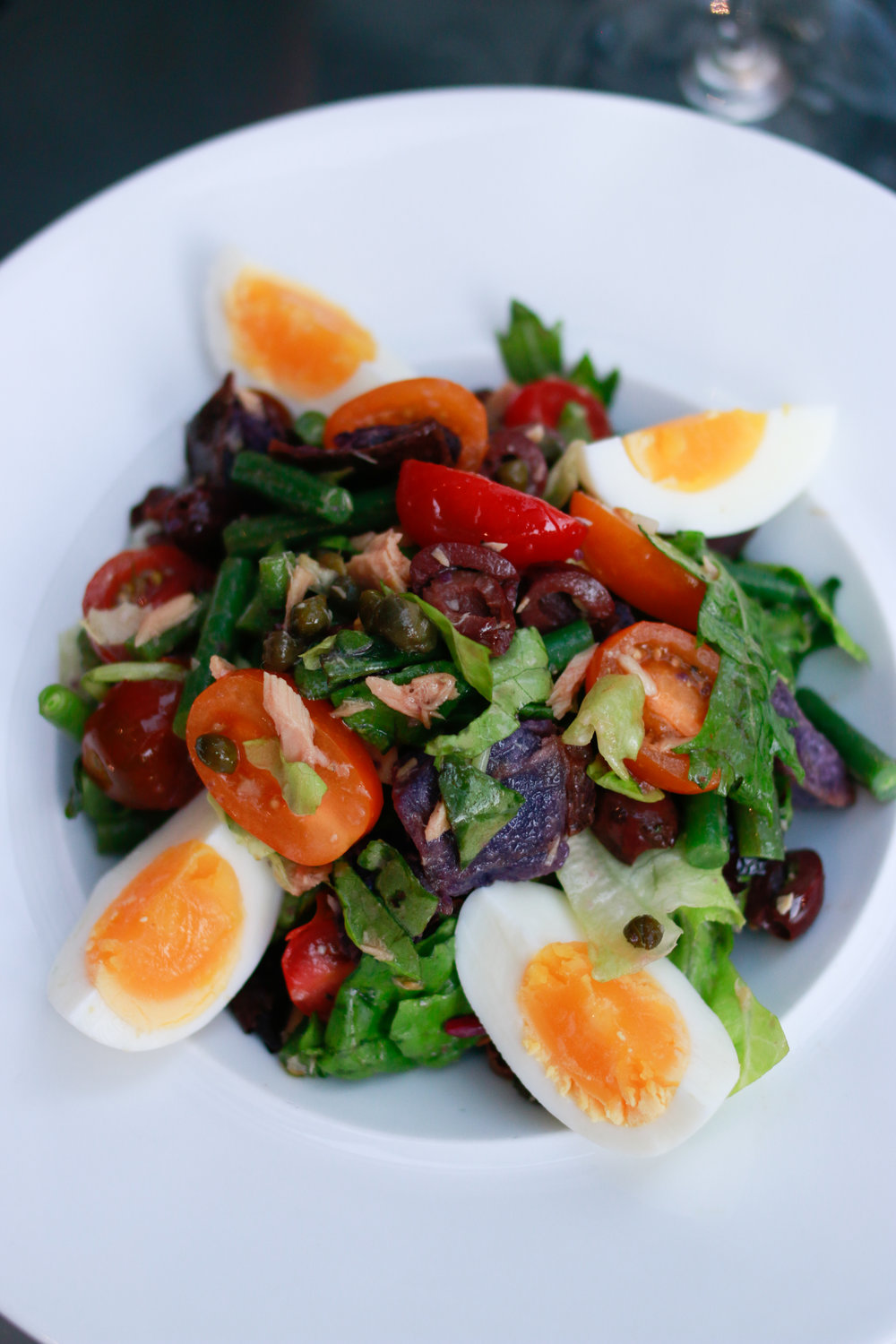salade niçoise marchesa chicago