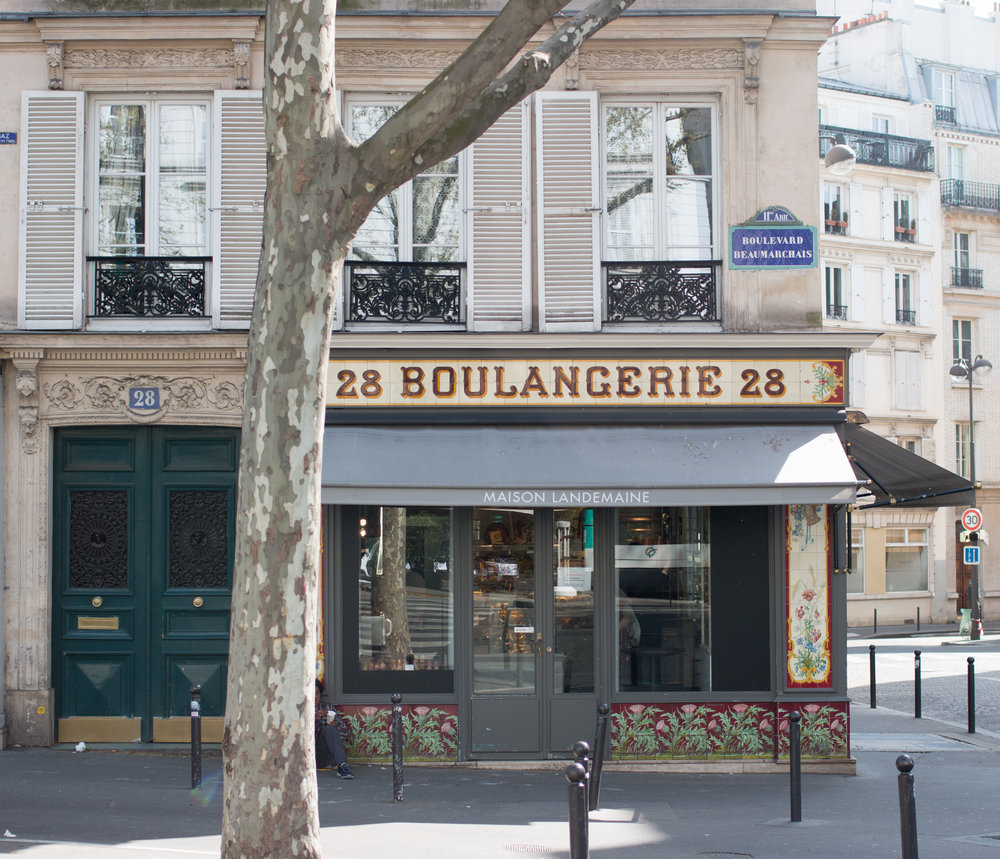 parisian boulangerie in the marais 28 beaumarchais paris france