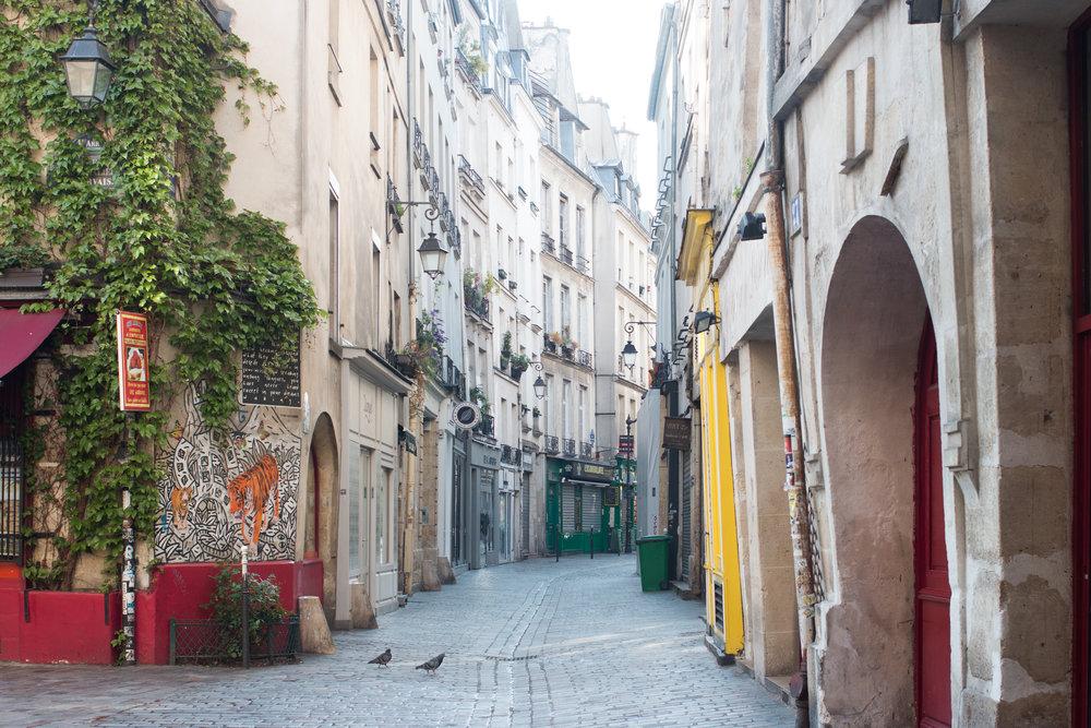 rue des rosiers paris francec