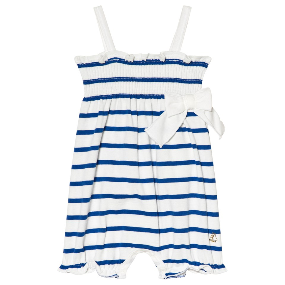 - Blue and White Onesie $20