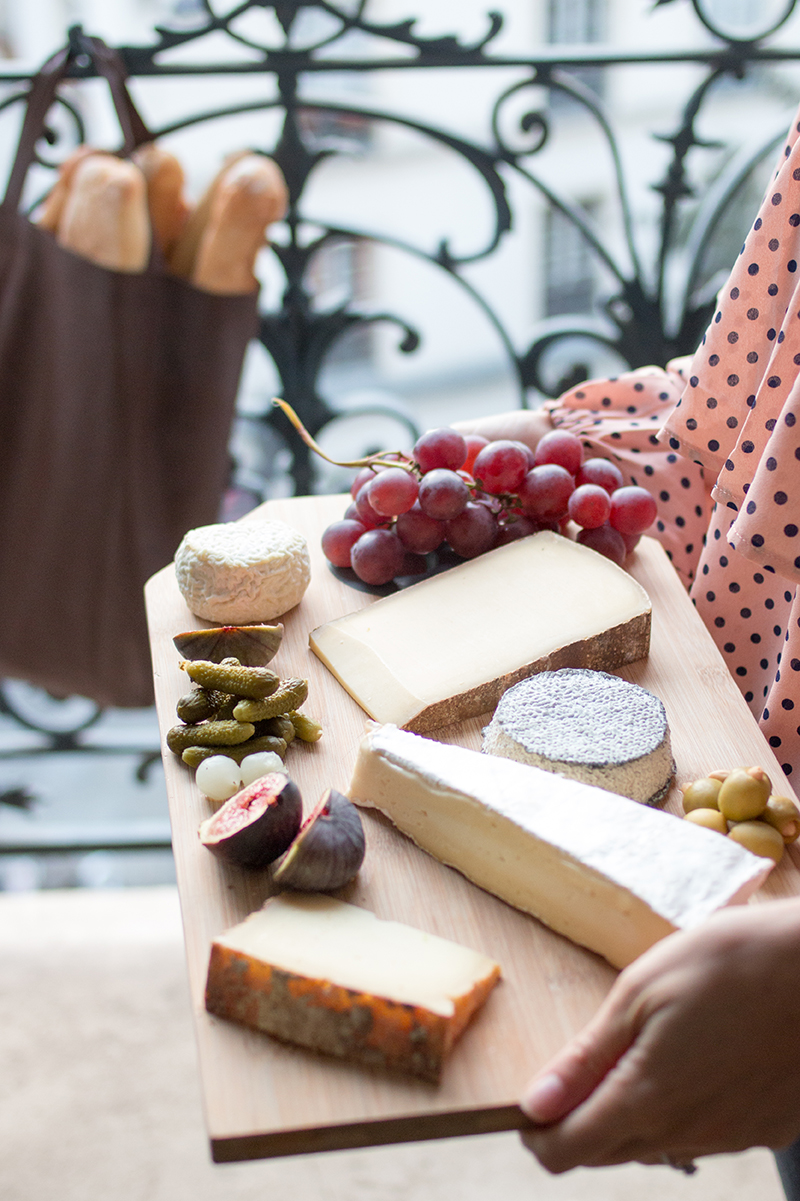 paris france cheese plate everyday parisian