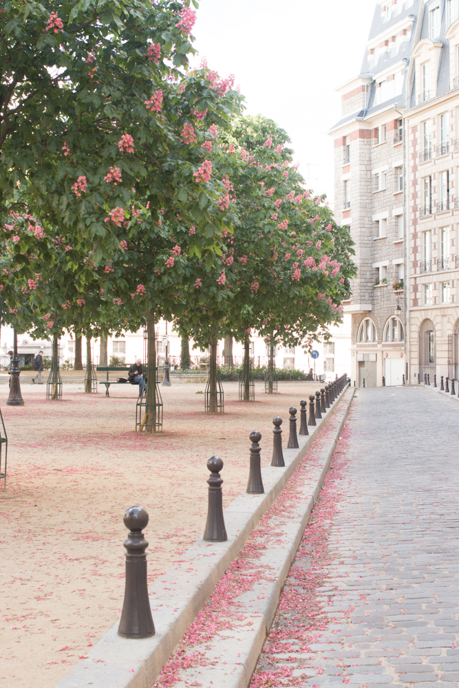 paris in the springtime place dauphine by rebecca plotnick