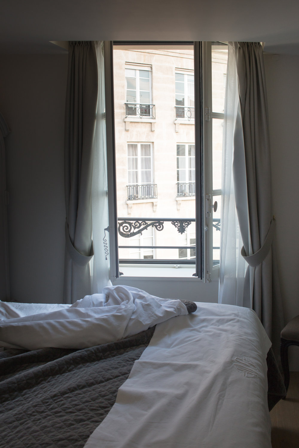 sunrise in place dauphine waking up in paris, france by rebecca plotnick