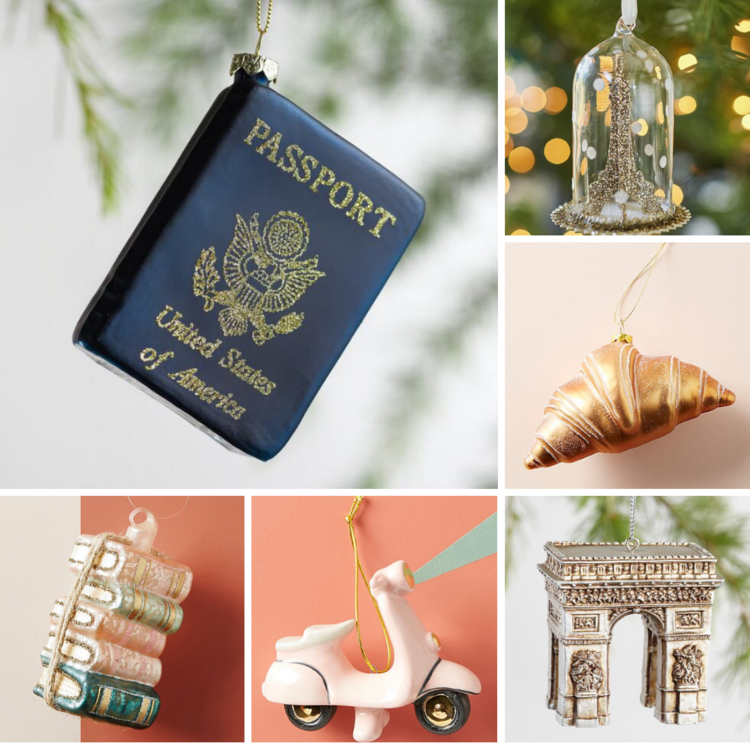 Paris inspired christmas ornaments - Paris Inspired Ornaments For Your Christmas Tree €� Every Day Parisian