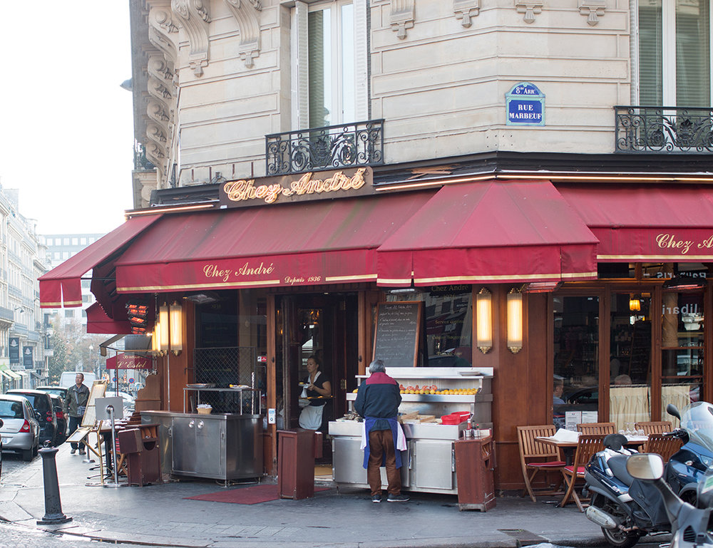 chez andre paris france