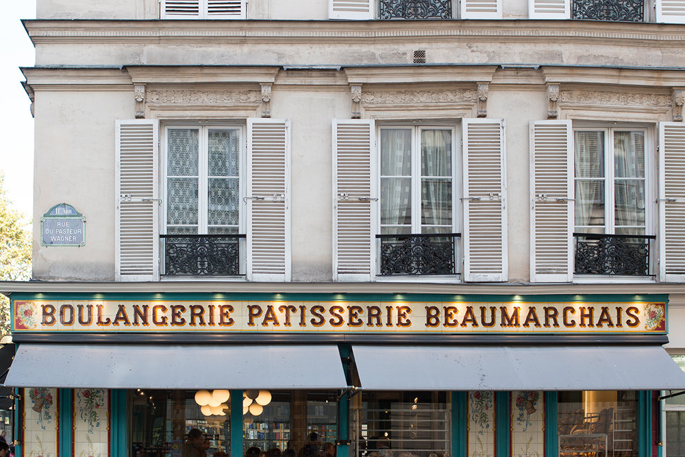 boulangerie 28 beaumarchais paris france
