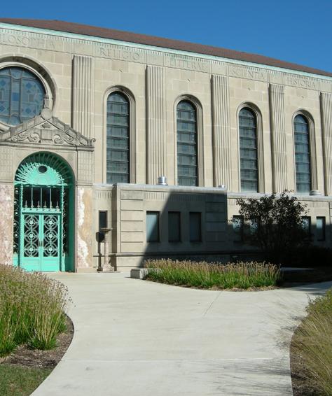 Loyola University, Cudahy Library Vestibule