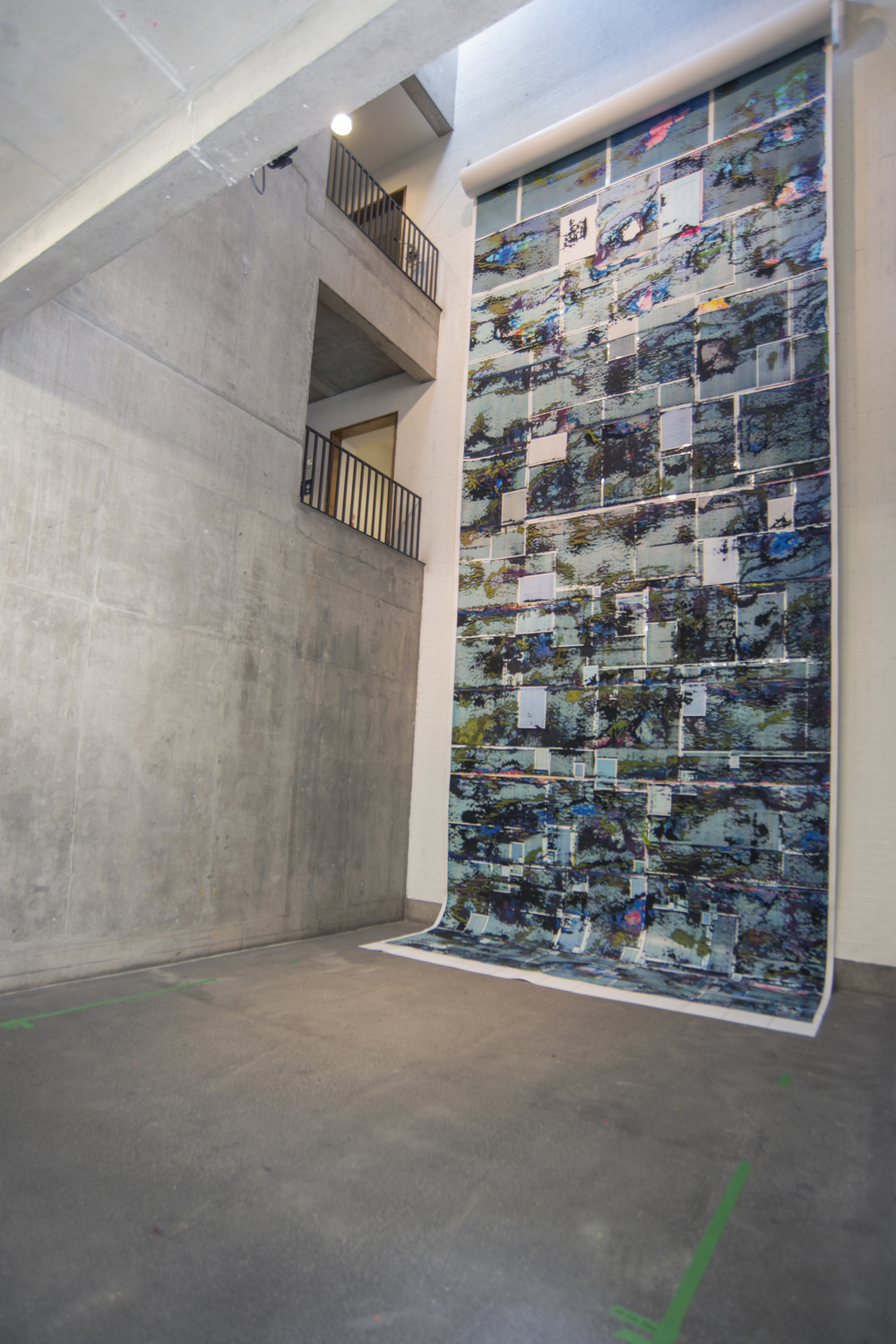Endless Pageless, The Bluecoat, Liverpool, (2014), Installation view