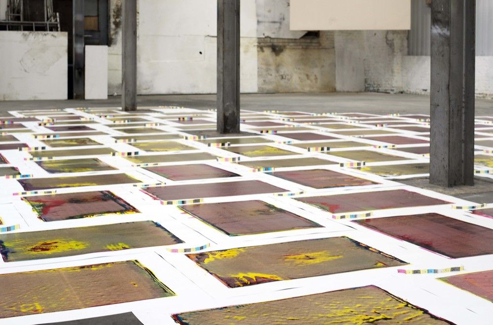Performance Publishing: Excelsior Works (2015), Installation view
