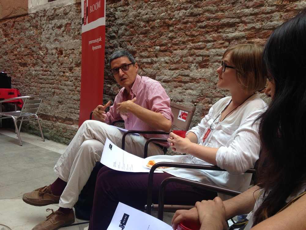 PRESS ROOM, Creative Time Summit, Venice Biennale, (2015)